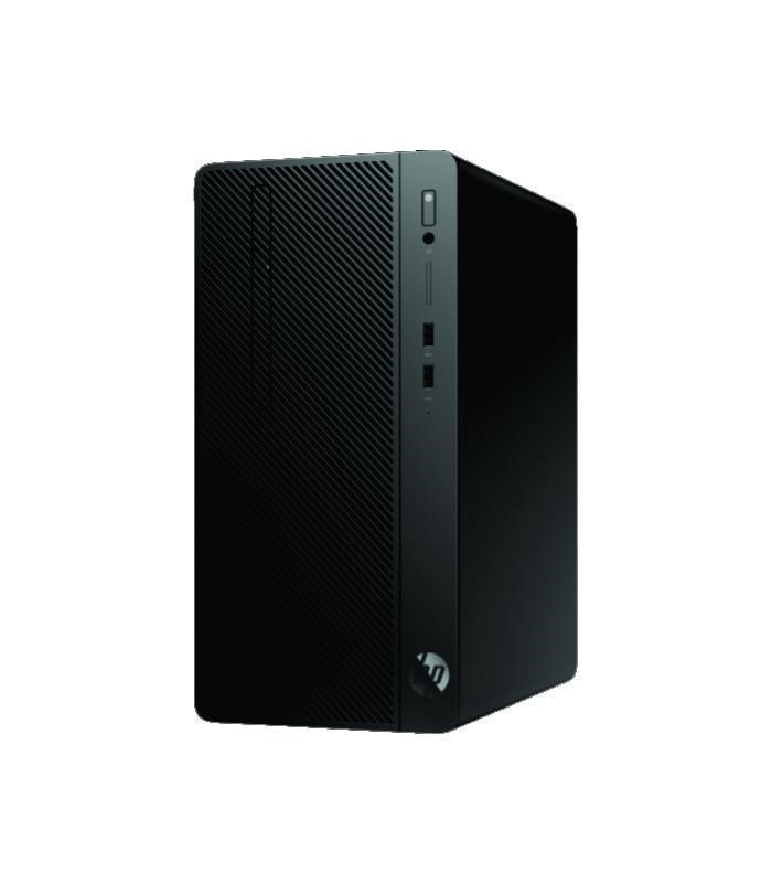 HP - Desktop Pro A MicroTower (R5 2400G/4GB DDR4/1TB HDD/DVDRW/usb wired keyboard & mouse/Win10P/18.5inch) [4UR27PA]