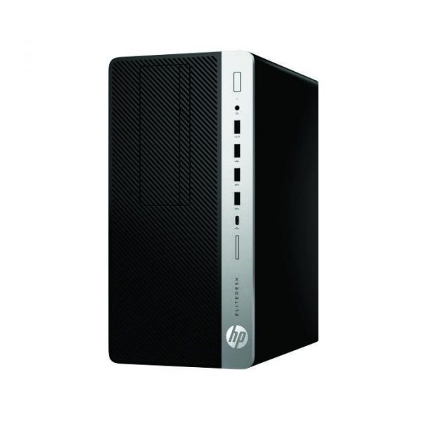 HP - EliteDesk 705 G4 MicroTower (R7 Pro 2700/RX550 4GB/8GB DDR4/1TB HDD/DVDRW/usb wired keyboard & mouse/Win10H/20.7inch) [5QH33PA]