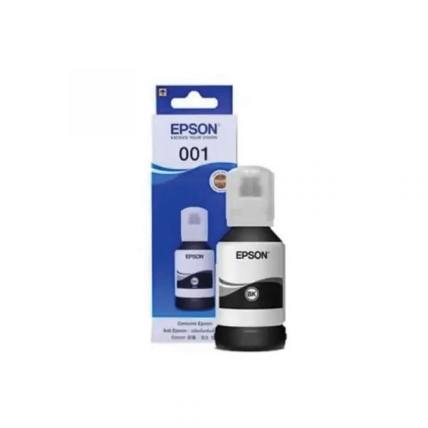EPSON - 001 Black 4CL Pigment 127ml Ink [C13T03Y100]