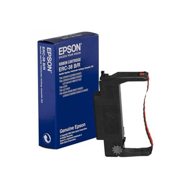 EPSON - ERC-38(B/R) RIBBON CASSETTE [C43S015376]