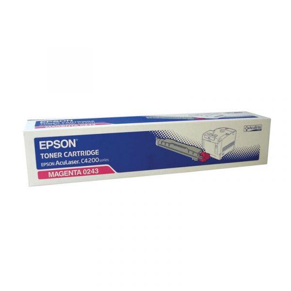 EPSON - MAGENTA TONER CARTRIDGE 8.5K - AL-C4200D [C13S050243]
