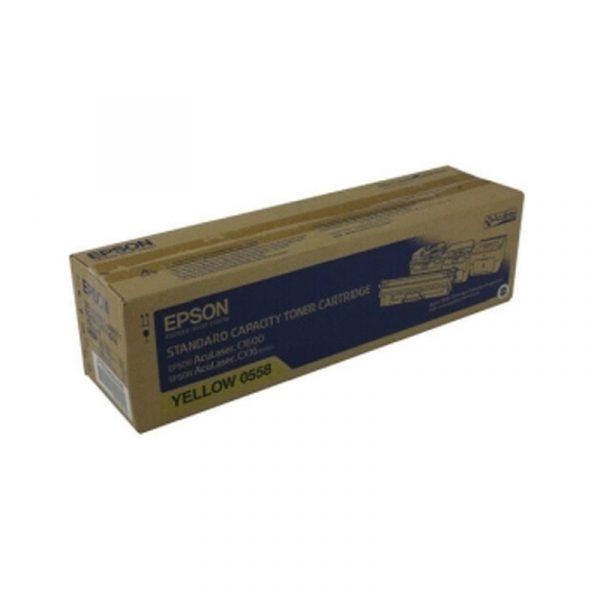 EPSON - AL-C1600/CX16 STANDARD CAP TONER (Y) [C13S050558]