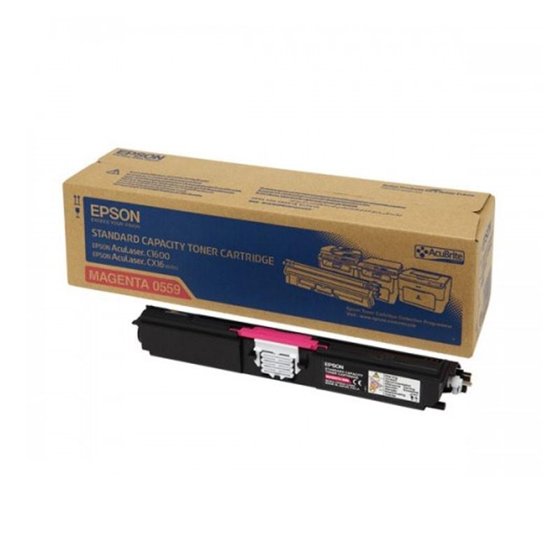 EPSON - AL-C1600/CX16 STANDARD CAP TONER (M) [C13S050559]