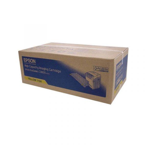 EPSON - C3800 HIGH CAP TONER CARTRIDGE-9K-YELLOW [C13S051124]