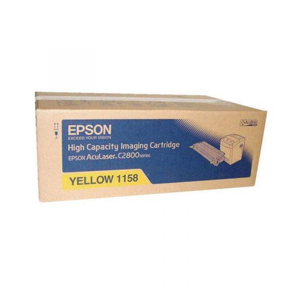 EPSON - TONER CTRG HIGH CAP (Y) 6K -AL-C2800N/DN [C13S051158]