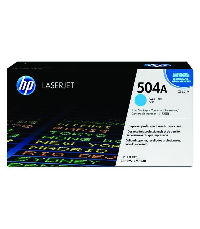 HP - CP3525/CM3530 MFP Cyan Print Cartridge [CE251A]