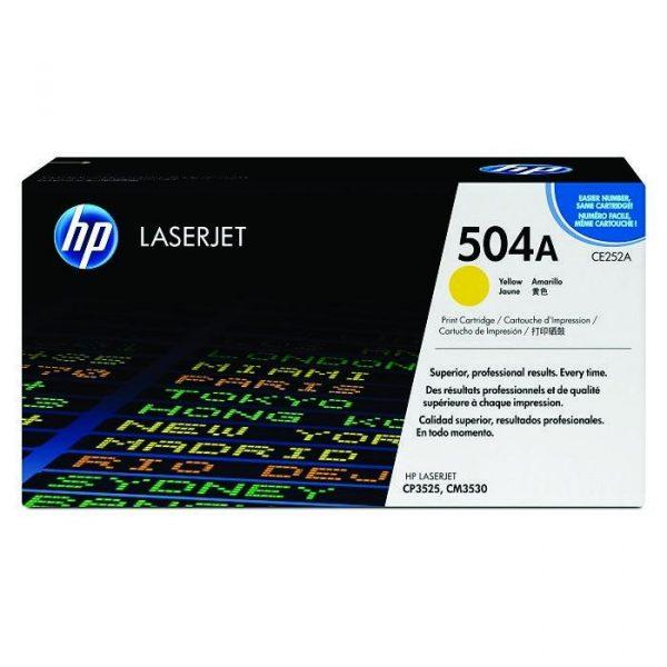 HP - CP3525/CM3530 MFP Yellow Print Cartridge [CE252A]
