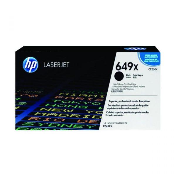 HP - LaserJet CP4525 17K Blk Prt Cartridge [CE260X]