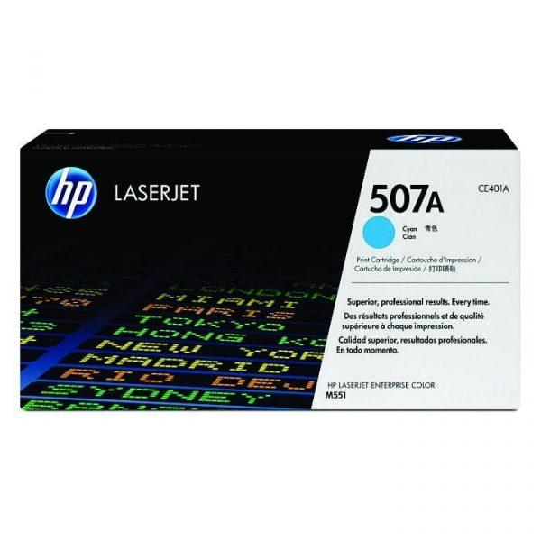 HP - 507A Cyan LaserJet Toner Cartridge [CE401A]
