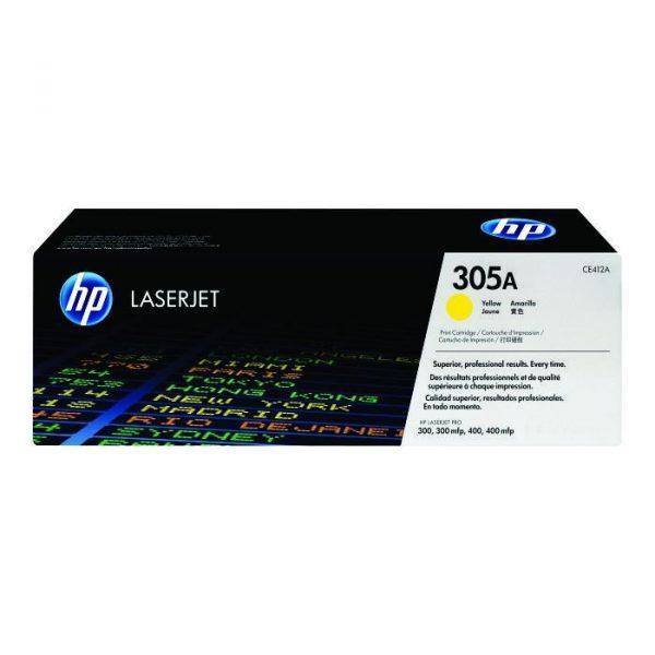 HP - LaserJet Pro M451/M475 Ylw Cartridge [CE412A]