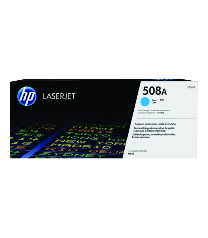 HP - 508A Cyan LaserJet Toner Cartridge [CF361A]