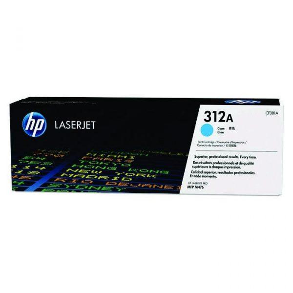 HP - 312A Cyan LaserJet Toner Cartridge [CF381A]