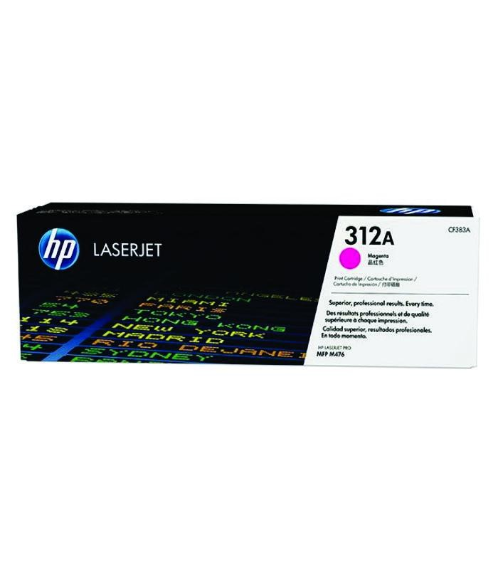 HP - 312A Magenta LaserJet Toner Cartridge [CF383A]