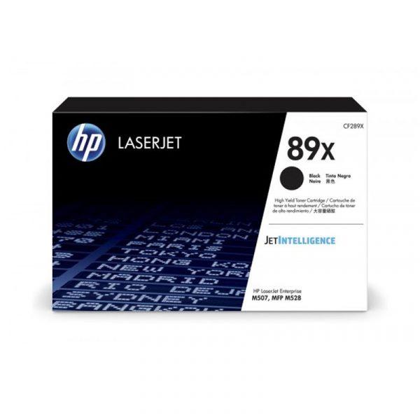 HP - 89X Black LaserJet Toner Cartridge [CF289X]