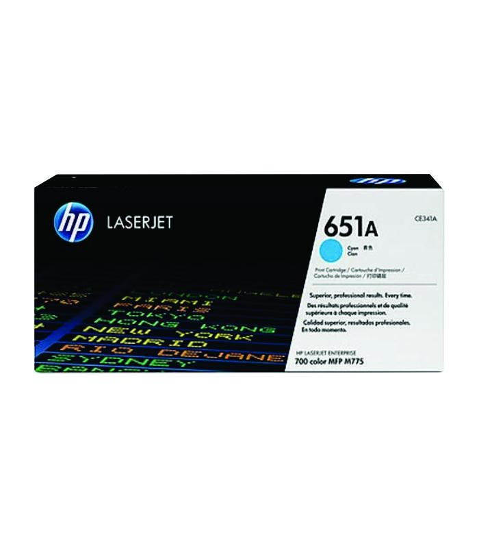 HP - LaserJet 700 Color MFP 775 Cyan Cartridge [CE341A]
