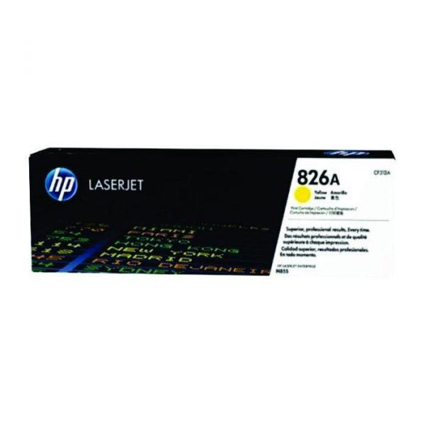 HP - 826A Yellow LaserJet Toner Cartridge [CF312A]