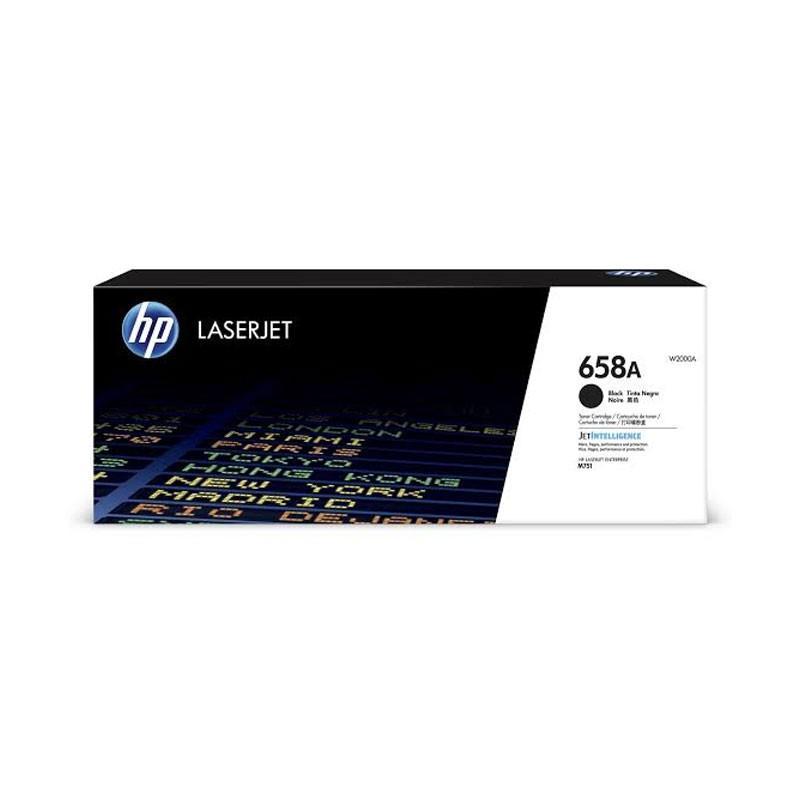 HP - 658A Black LaserJet Toner Cartridge [W2000A]