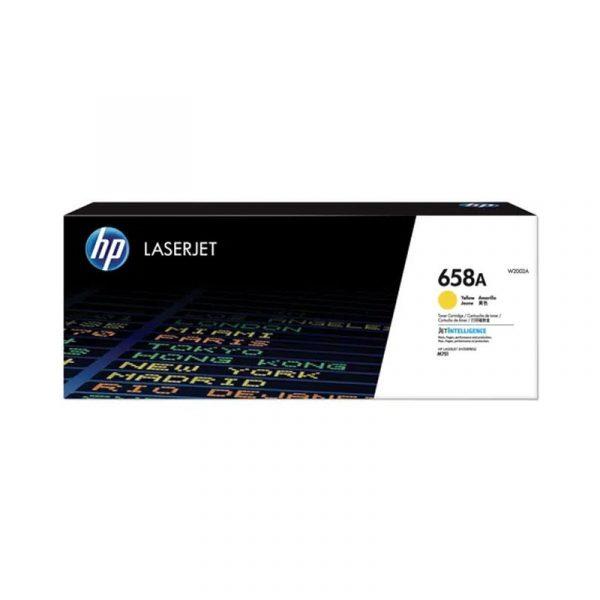 HP - 658A Yellow LaserJet Toner Cartridge [W2002A]