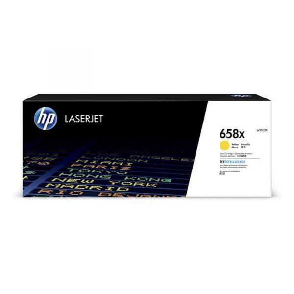 HP - 658X Yellow LaserJet Toner Cartridge [W2002X]