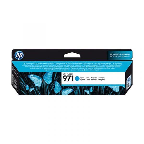 HP - 971 Cyan Ink Cartridge [CN622AA]