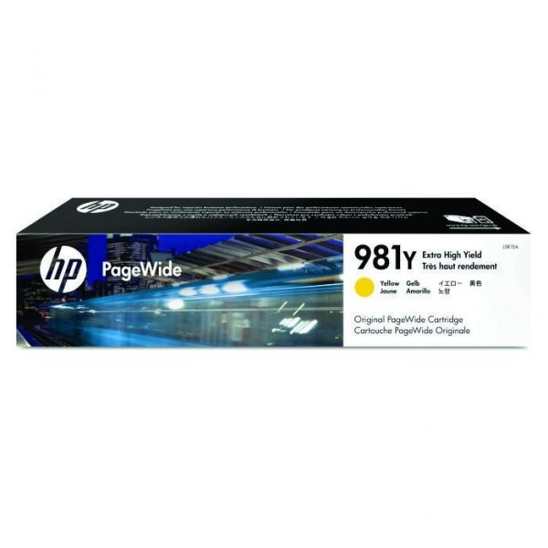HP - 981Y Yellow Original PageWide Cartridge [L0R15A]