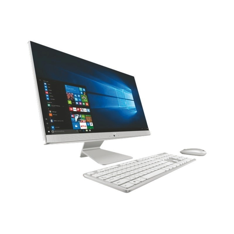 ASUS - AiO V241FFT-WA781T (i7-8565U/8GB RAM/1TB HDD/128GB SSD/MX130 2GB/No DVD/23.8inch Touch/Win10/White)