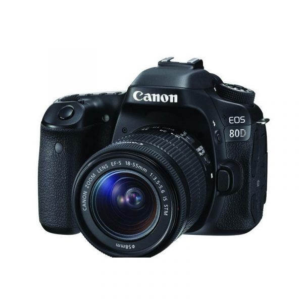 CANON - Digital EOS 80D Lens 18-55mm IS STM WiFi