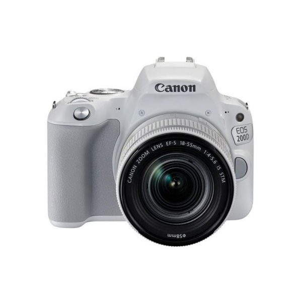 CANON - Digital EOS 200D Lens 18-55mm White
