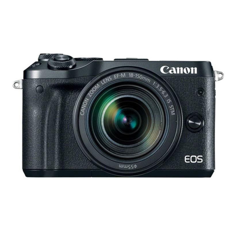 CANON - EOS M6 Mirrorless Digital 18-150mm Lens (Black)