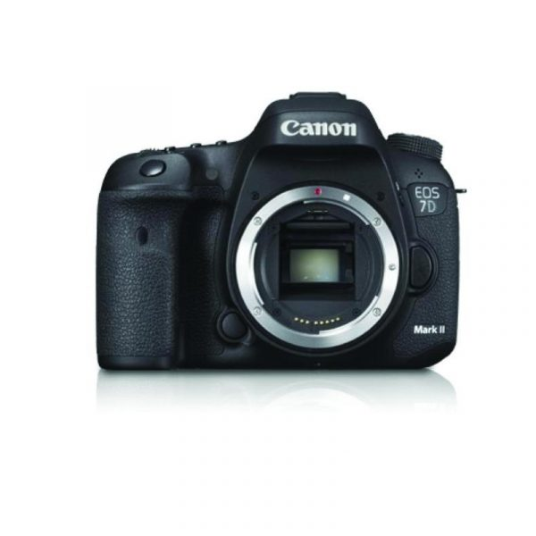 CANON - Digital EOS 7D Mark II Body Only + W-E1
