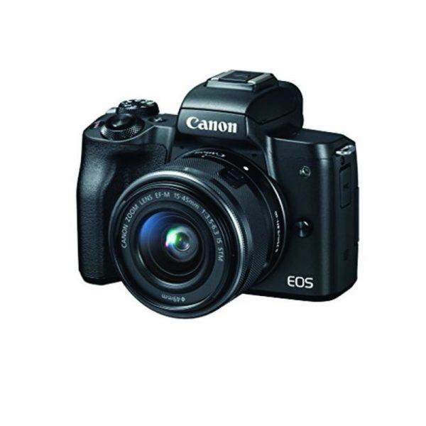 CANON - EOS M50 EF-M15-45mm Black