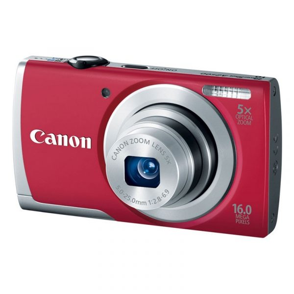 CANON - PowerShot A2500 Red