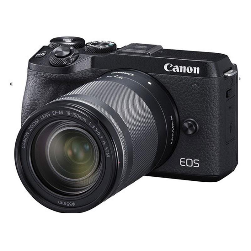 CANON - EOS M6 Mark II Black EF-M 18-150mm
