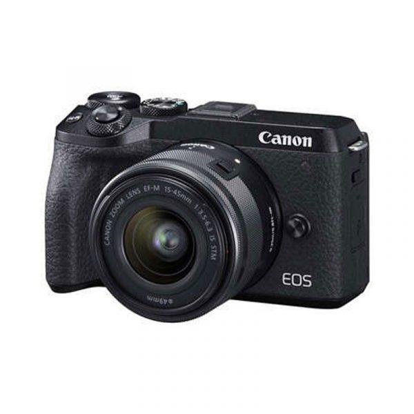 CANON - EOS M6 mark II Black EF-M15-45mm
