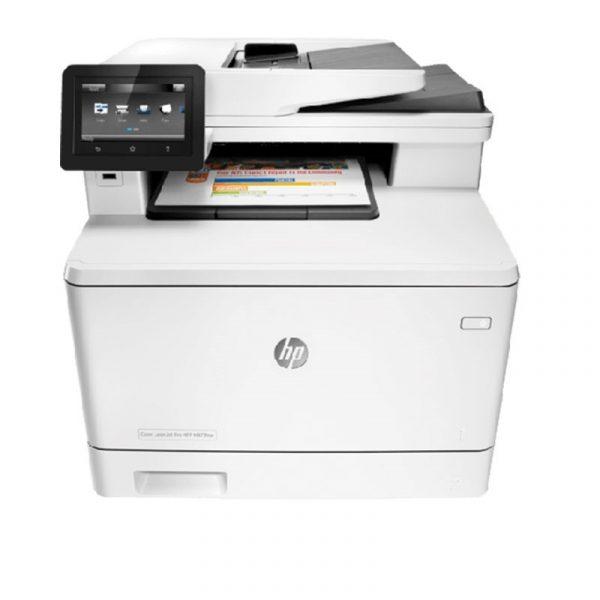 HP - Color LaserJet MFP M477fnw Printer [CF377A]