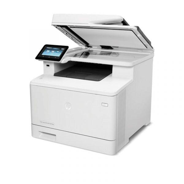 HP - Color LaserJet MFP M477fdw Printer [CF379A]