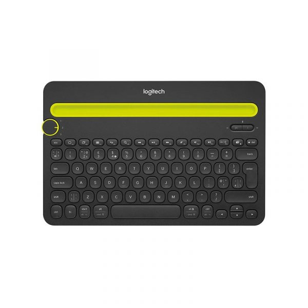 LOGITECH - K480 MultiDevice Keyboard Black