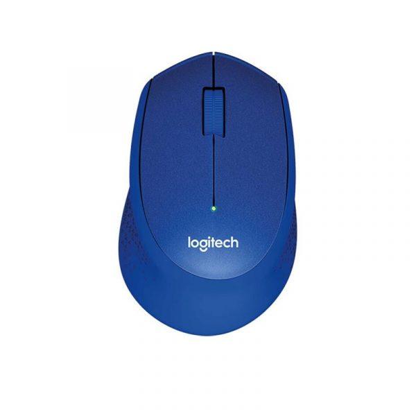 LOGITECH - Wireless Silent Mouse M331 Blue