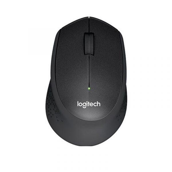 LOGITECH - Wireless Silent Mouse M331 Black