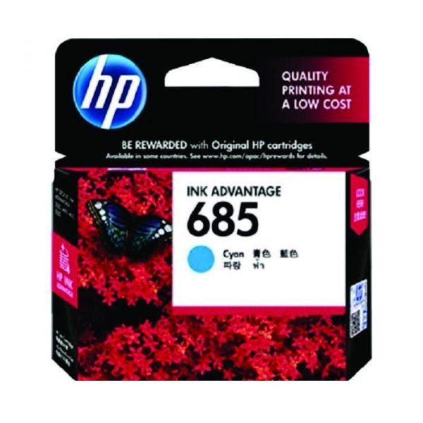 HP - 685 Cyan Ink Cartridge [CZ122AA]