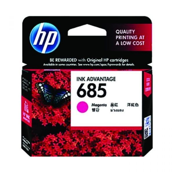 HP - 685 Magenta Ink Cartridge [CZ123AA]
