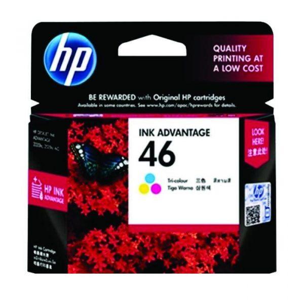 HP - 46 Tri-color Ink Cartridge [CZ638AA]