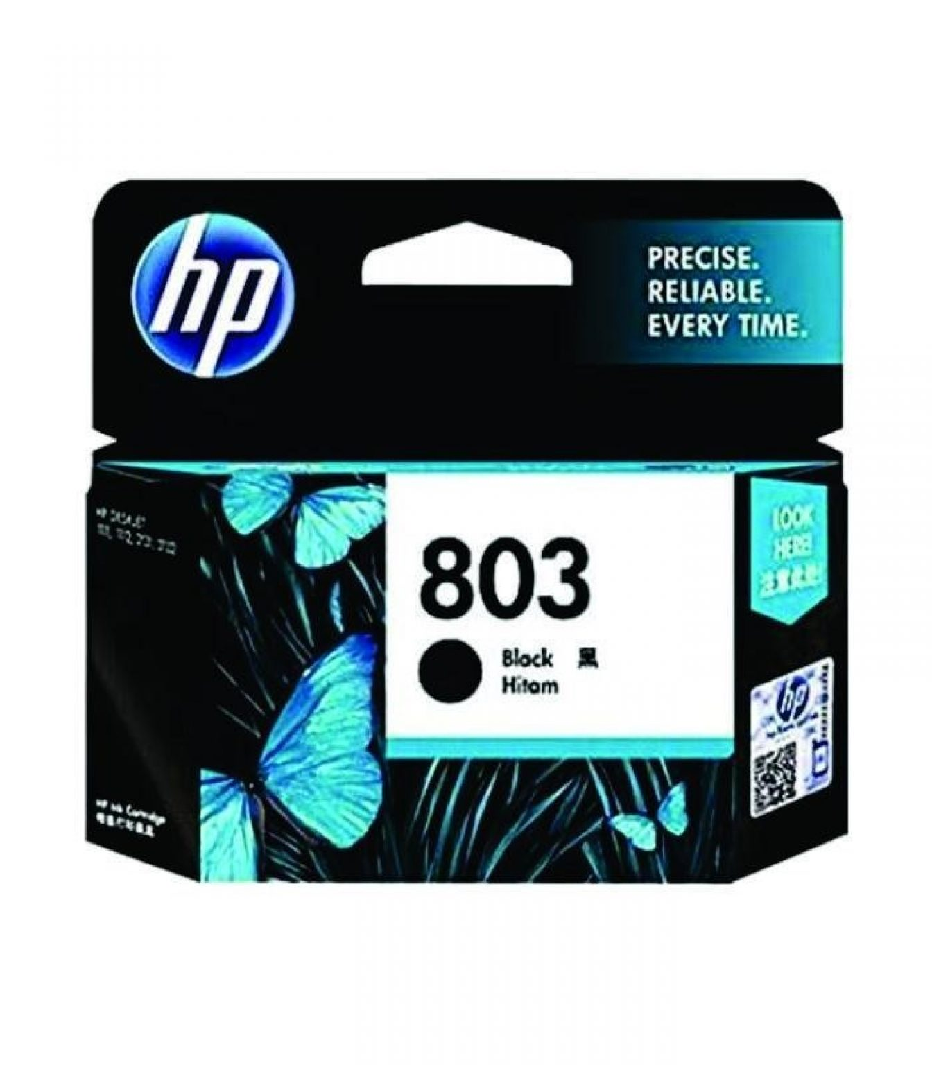 HP - 803 Black Ink Cartridge [F6V21AA]