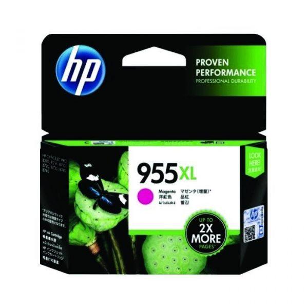 HP - 955XL Magenta Original Ink Cartridge [L0S66AA]