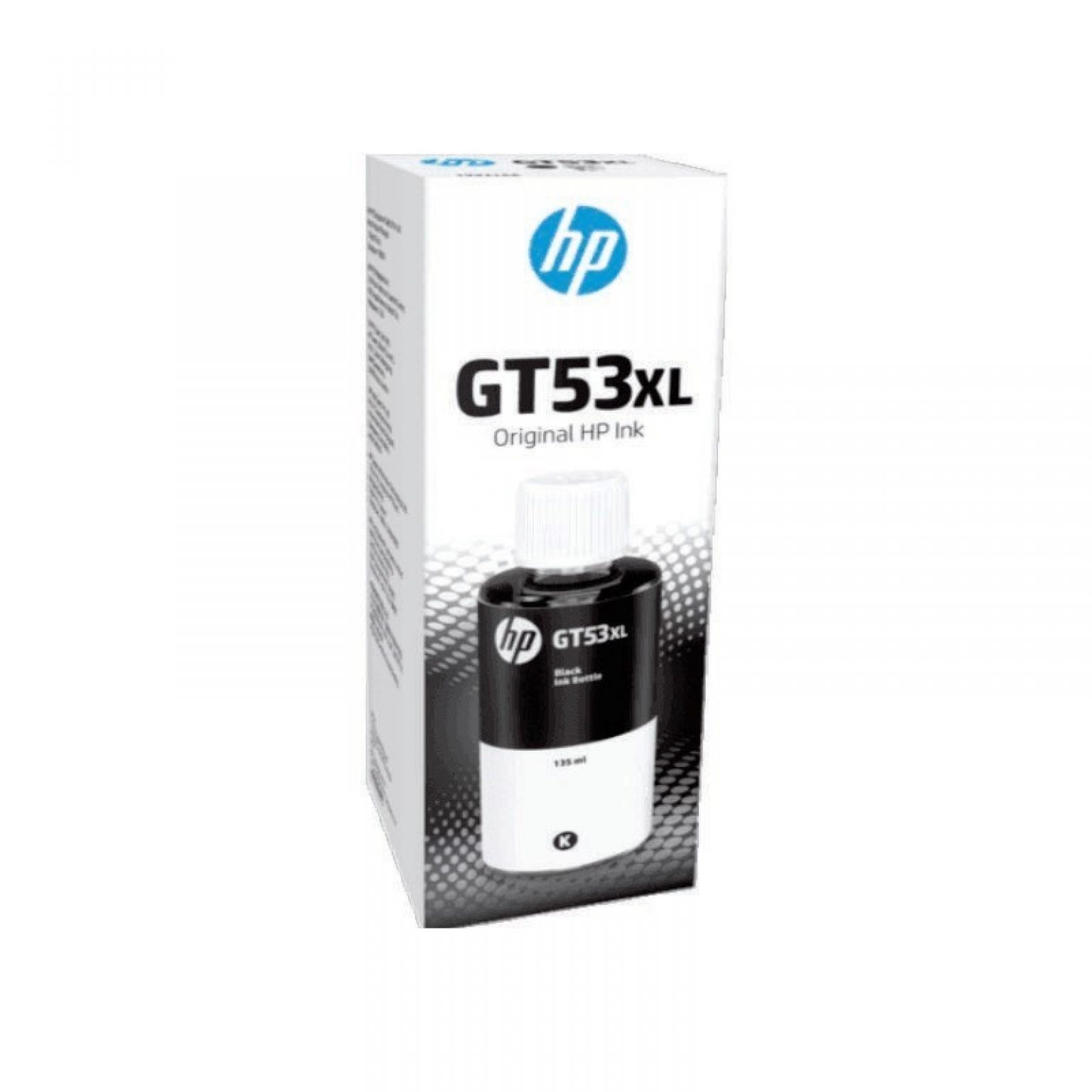 HP - GT53XL 135ml Black Original Ink Bottle [1VV21AA]