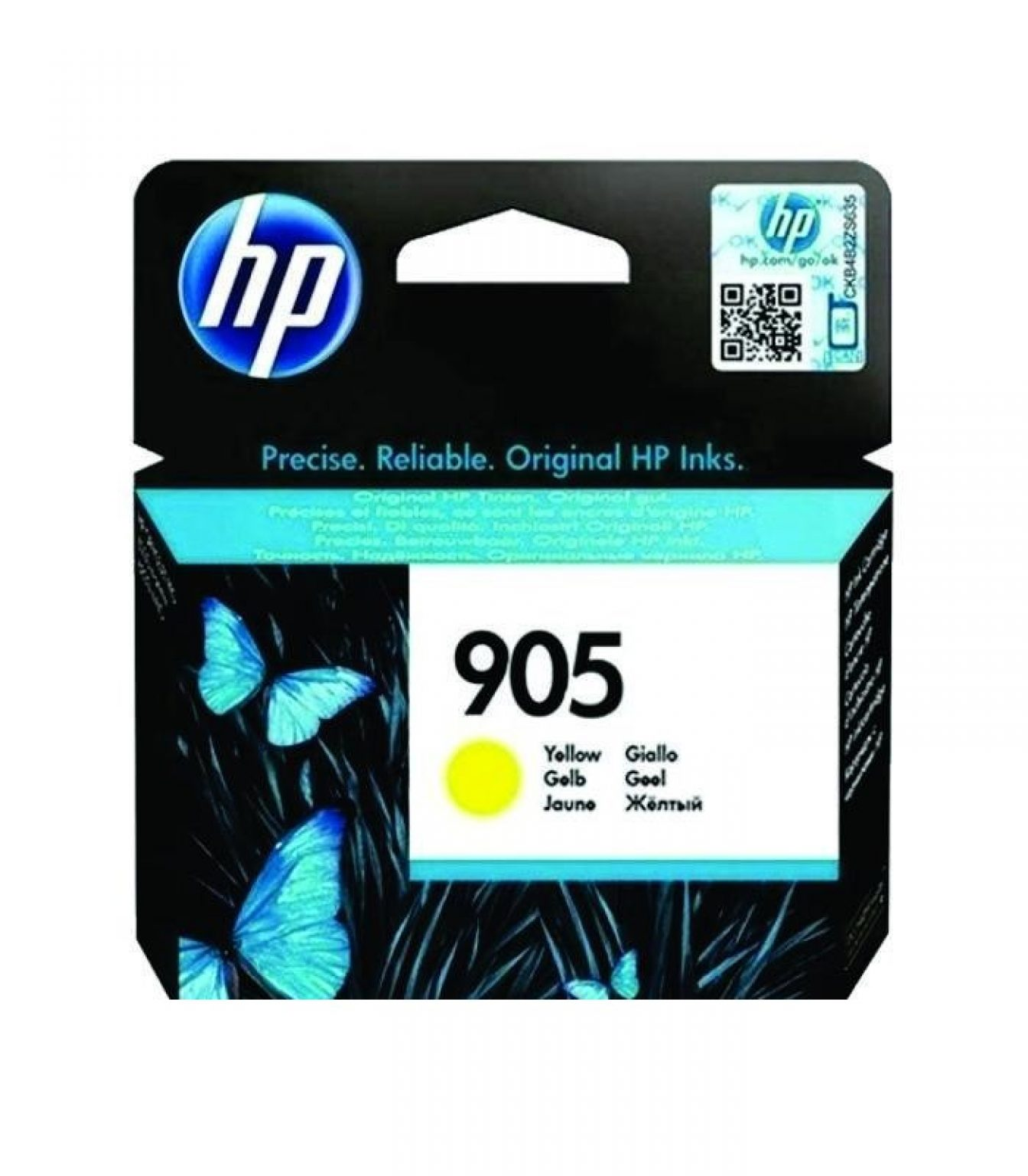 HP - 905 Yellow Original Ink Cartridge [T6L97AA]