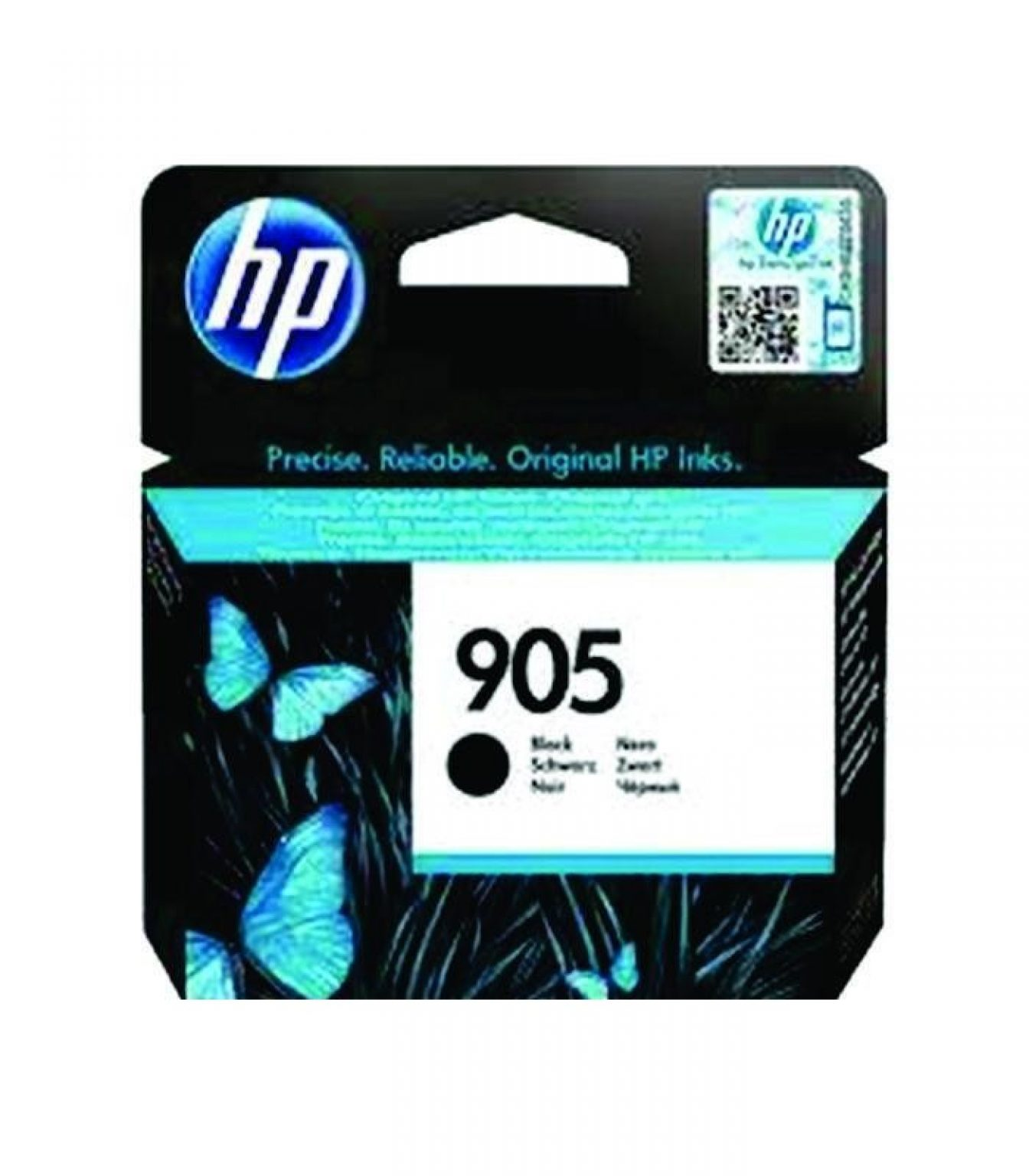 HP - 905 Black Original Ink Cartridge [T6M01AA]