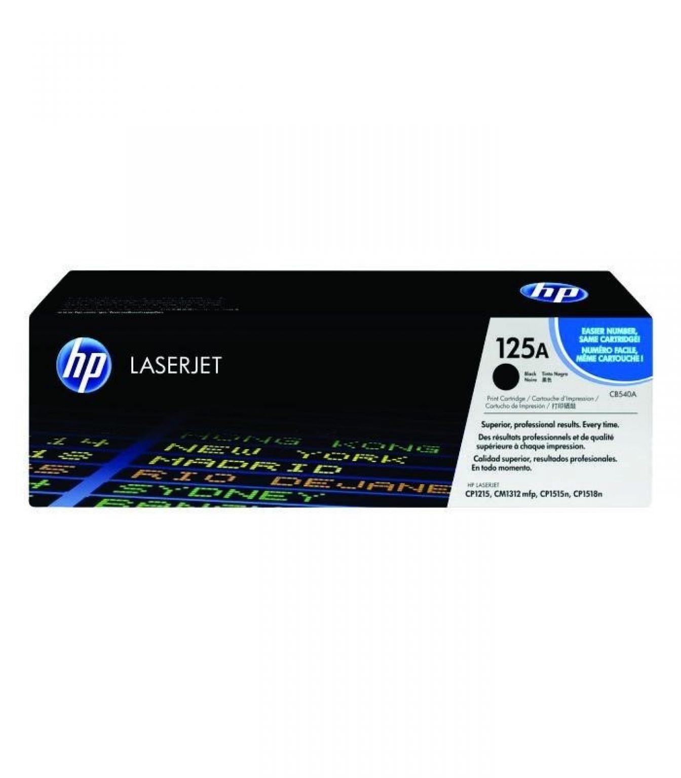 HP - Color LaserJet CP1215/1515 Black Cartridge [CB540A]