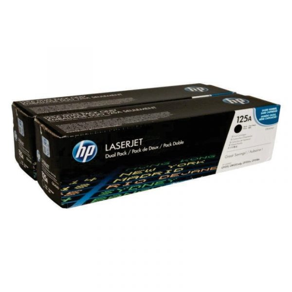 HP - CLJ CB540A Dual Pack Print Cartridge [CB540AD]