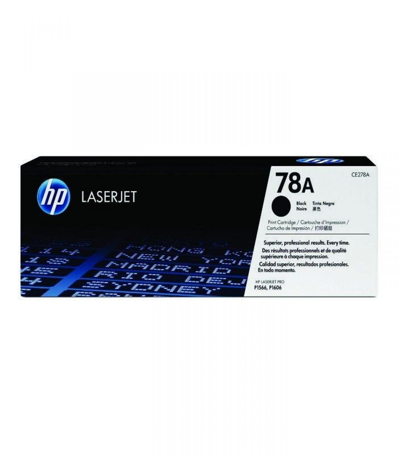 HP - LaserJet P1566/P1606 Black Print Cartridge [CE278A]